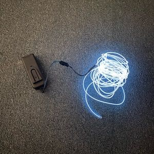 Other - White Neon Light Strip w/Battery Pack